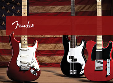 Fender American Electric Guitars